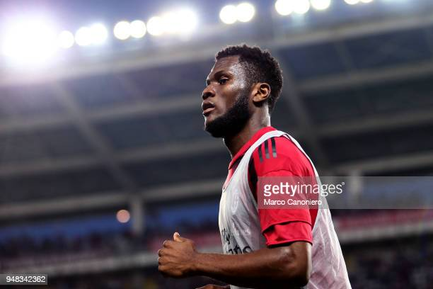Franck Kessie of Ac Milan looks on before the Serie A football match between Torino Fc and Ac Milan The match end in a tie 11