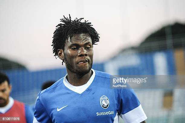 Franck Kessie of Atalanta BC during the Serie A match between FC Crotone and Atalanta BC at Adriatico Stadium on September 26 2016 in Pescara Italy
