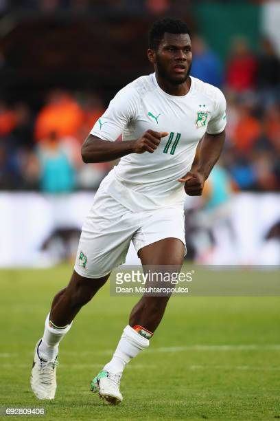 Franck Kessie of the Ivory Coast in action during the International Friendly match between the Netherlands and Ivory Coast held at De Kuip or Stadion...