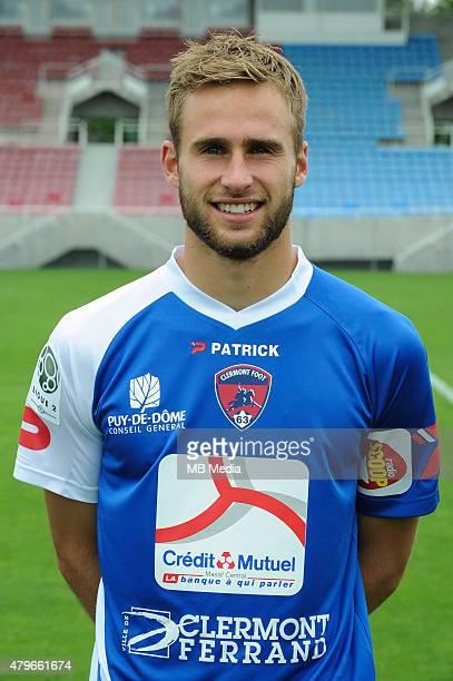 Franck L HOSTIS Portraits officiels Clermont Ligue 2 Jean Paul Thomas / Icon Sport/MB Media