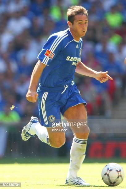 Franck LAMPARD Manchester United / Chelsea Community Shield Wembley Londres