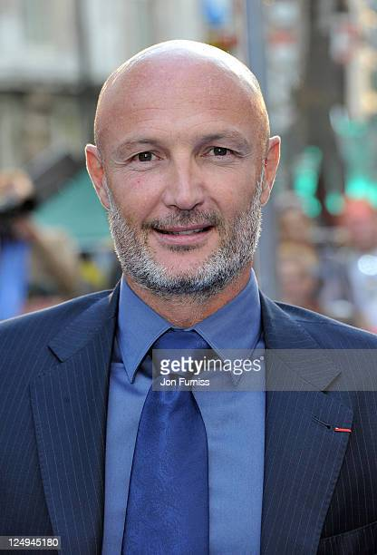 Franck Leboeuf attends the UK Premiere of 'Real Steel' at Empire Leicester Square on September 14 2011 in London England
