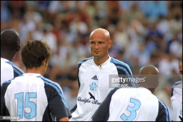 Franck Leboeuf plays first game with Marseilles after transfer from Chelsea Here with Ibrahim Bakayoko