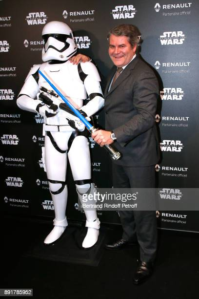 Franck Louvrier attends the 'Star Wars x Renault' Party at Atelier Renault on December 13 2017 in Paris France