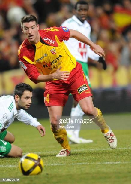 Franck QUEUDRUE Lens / Saint Etienne 20eme journee de Ligue 1