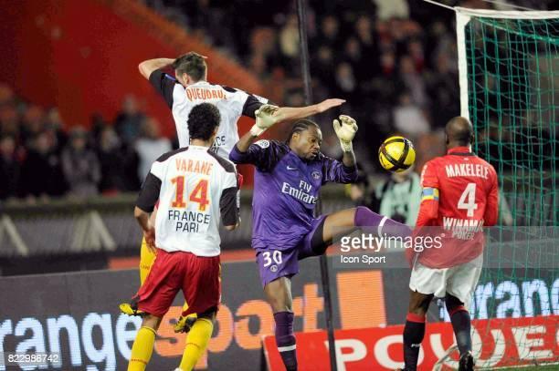 Franck QUEUDRUE / Apoula EDEL PSG / Lens 23eme journee de Ligue 1