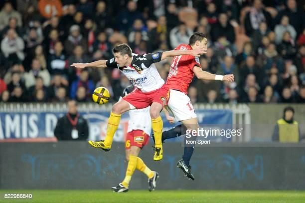 Franck QUEUDRUE / Mevlut ERDING PSG / Lens 23eme journee de Ligue 1