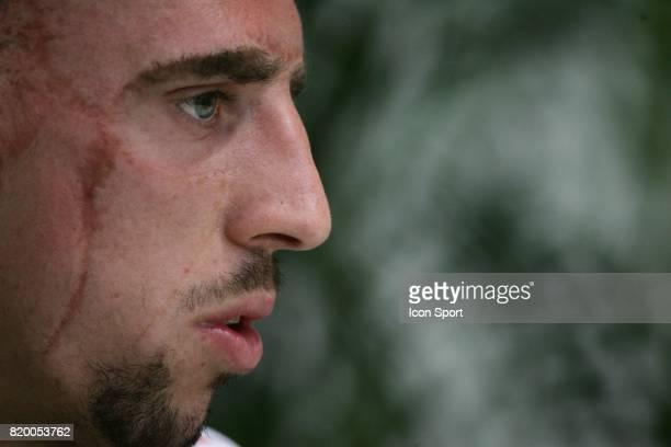 Franck RIBERY Conference de presse Coupe du Monde 2006 Hameln