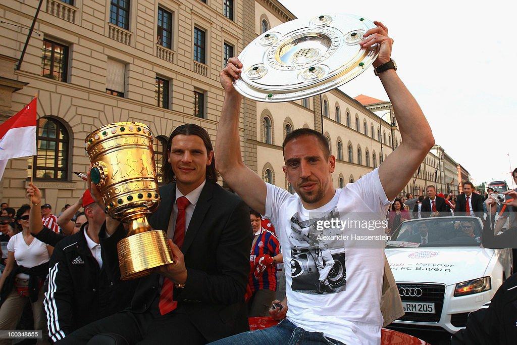 Bayern Muenchen Victory Parade