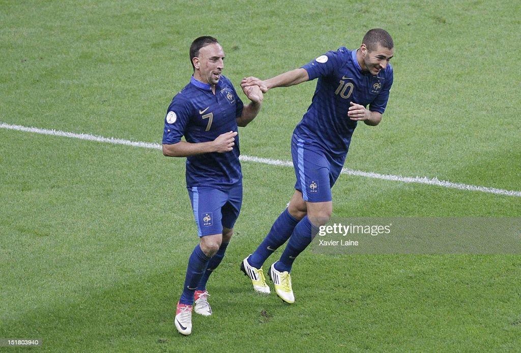 France v Belarus - FIFA 2014 World Cup Qualifier : News Photo