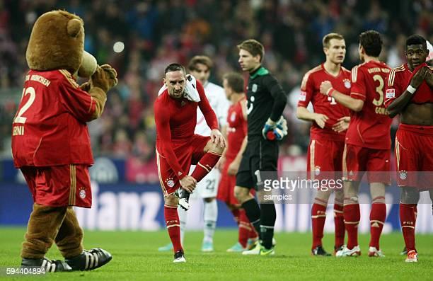 Franck RIBERY FC Bayern München 1 Bundesliga Fussball FC Bayern München Hannover 96 50 Saison 2012 / 2013