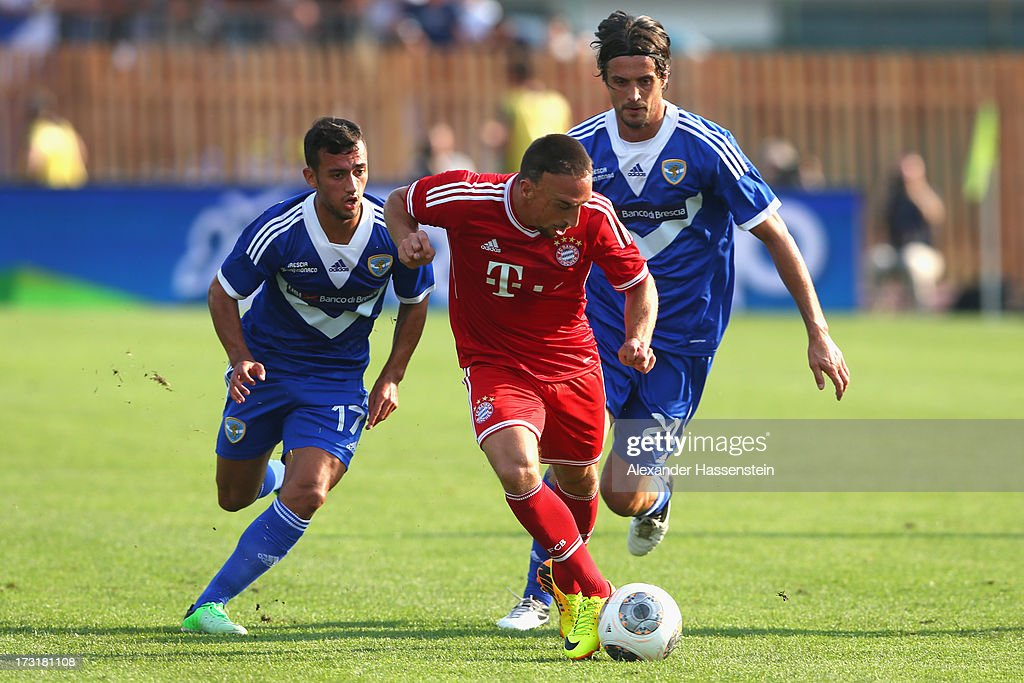 Brescia Calcio v FC Bayern Muenchen - Friendly Match : News Photo
