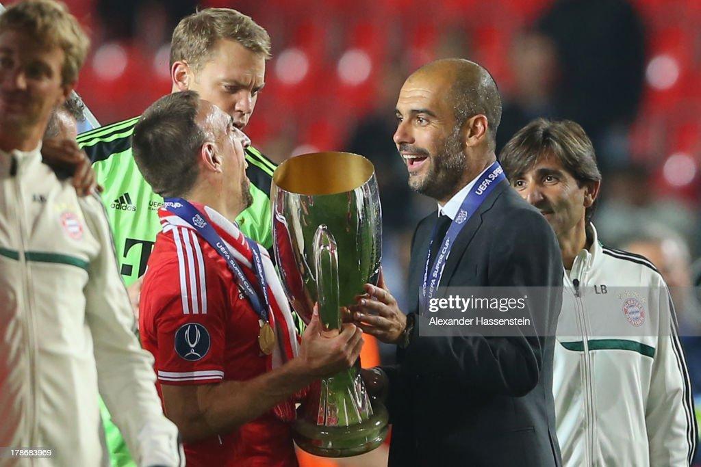 Bayern Muenchen v Chelsea - UEFA Super Cup : News Photo