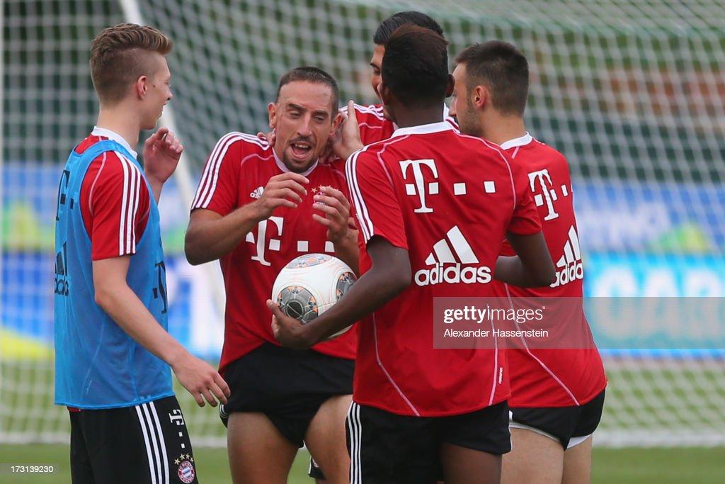 FC Bayern Muenchen - Training Camp Day Five