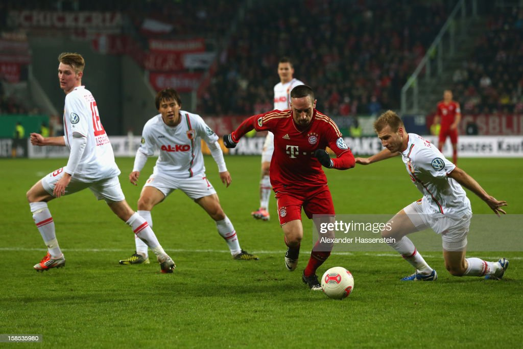 FC Augsburg v Bayern Muenchen - DFB Cup