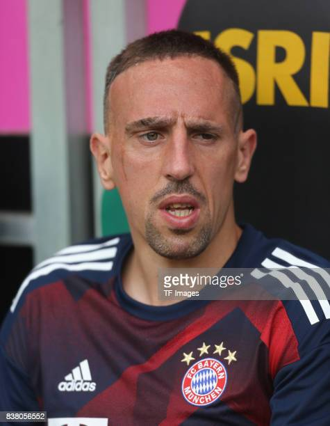 Franck Ribery of Muenchen looks on during the Telekom Cup 2017 Final between SV Werder Bremen and FC Bayern Muenchen at Borussia Park on July 15 2017...