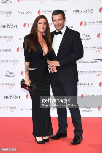 Franck Semonin and Helene Semonin attend the 57th Monte Carlo TV Festival Opening Ceremony on June 16, 2017 in Monte-Carlo, Monaco.