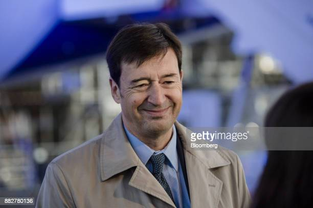 Franck Terner chief executive officer of the Air France division of Air FranceKLM Group reacts as Europe's biggest airline launches new lowcost...