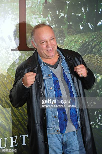 Franck Tiozzo attends the 'Il etait une foret' Paris Premiere at Cinema Gaumont Marignan in Paris