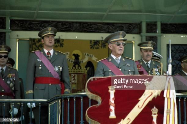 Franco and Juan Carlos in Parade of Victoria