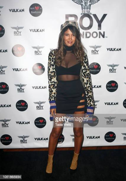 Franco attends BOY London hosts preFashion Week party with Vulkan Magazine and Art Hearts Fashion at BOY London Flagship Store on October 10 2018 in...