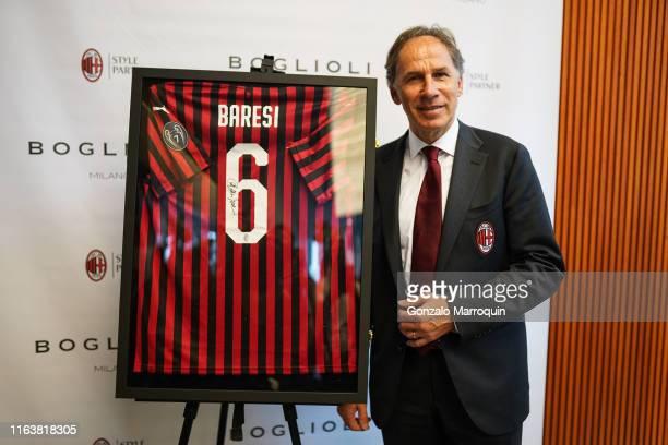 Franco Baresi during the Boglioli AC Milan Style Partner Launch with Franco Baresi AC Milan Legend at BogliolI on July 23 2019 in New York City