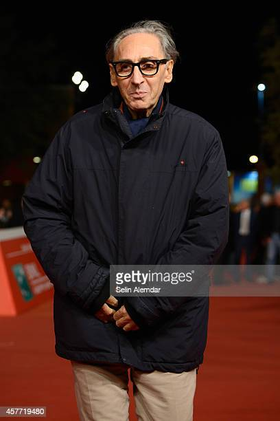 Franco Battiato attends the 'Due volte Delta' Red Carpet during the 9th Rome Film Festival on October 23 2014 in Rome Italy