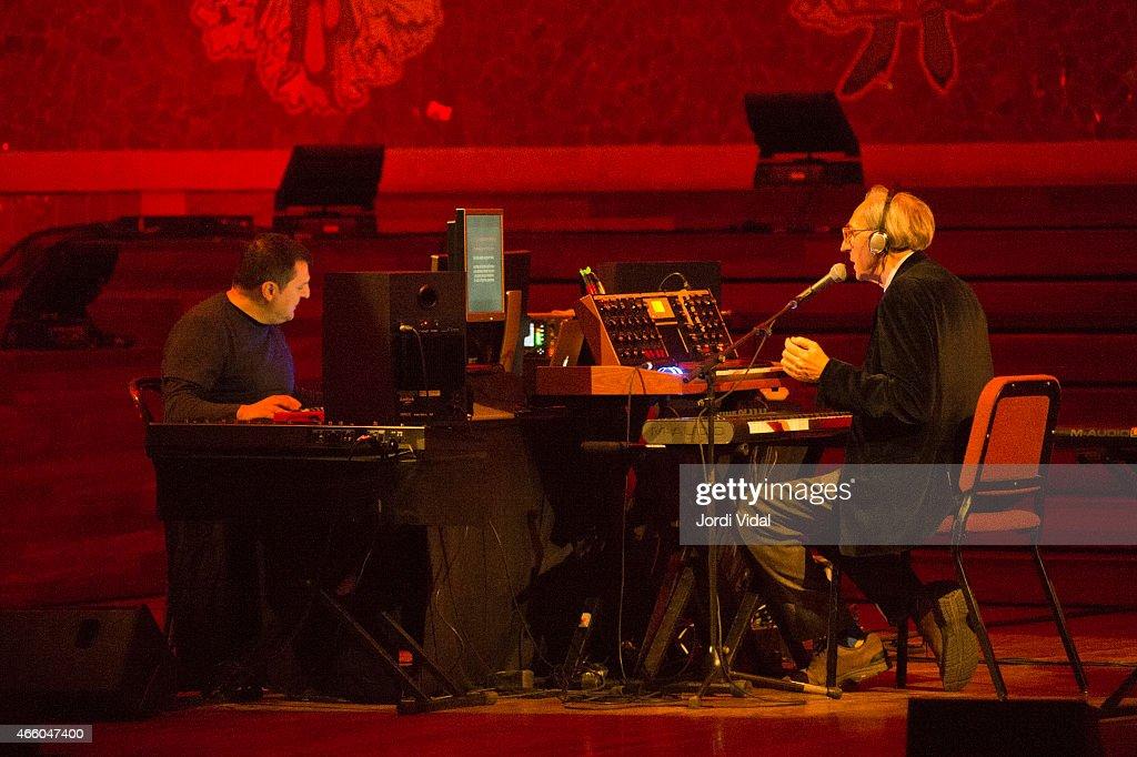 Franco Battiato Performs In Barcelona : Foto di attualità