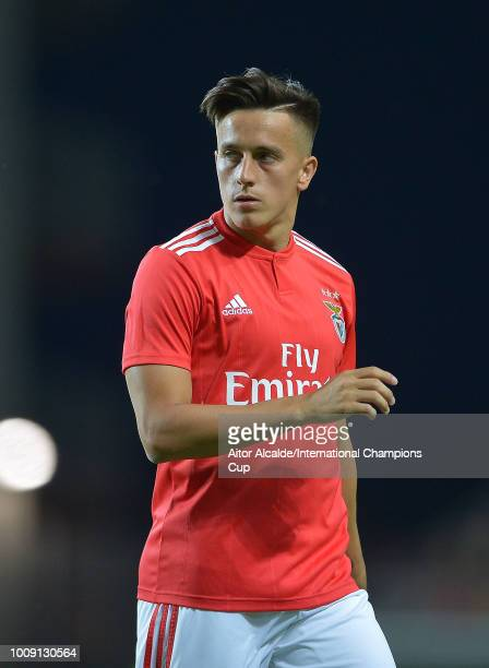 Franco Cervi of Benfica during the International Champions Cup 2018 match between Benfica and Olympique Lyonnais at the Estadio Algarve on August 1...