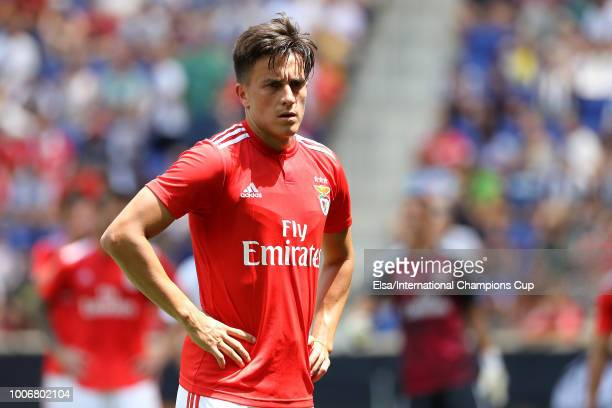 Franco Cervi of Benfica during the International Champions Cup at Red Bull Arena on July 28 2018 in Harrison New Jersey