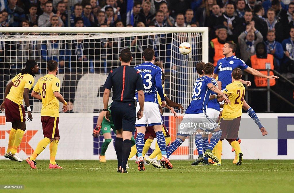 FC Schalke 04 v AC Sparta Praha - UEFA Europa League