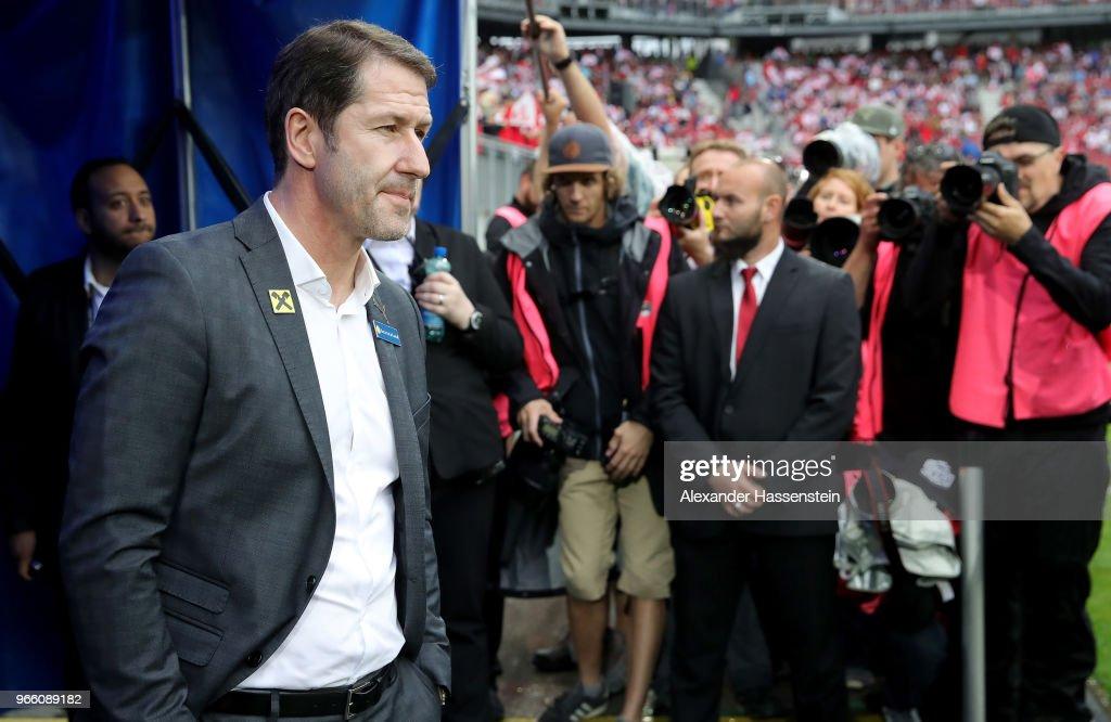 Austria v Germany - International Friendly : ニュース写真