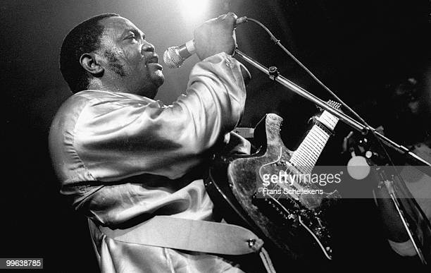 Franco from Congo performs live at Paradiso in Amsterdam, Netherlands on August 16 1984