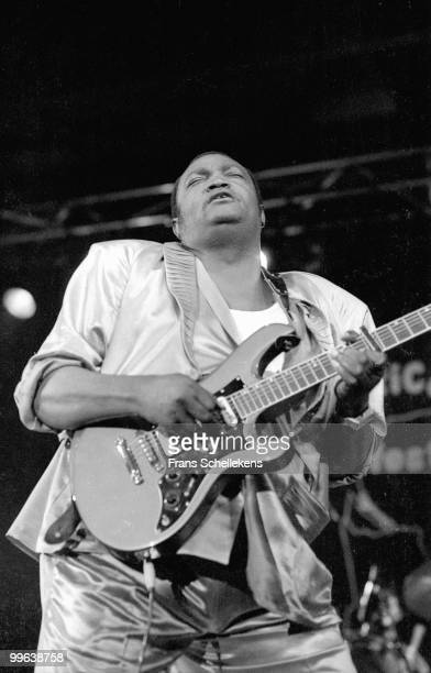 Franco from Congo performs live in Utrecht, Netherlands on May 09 1987