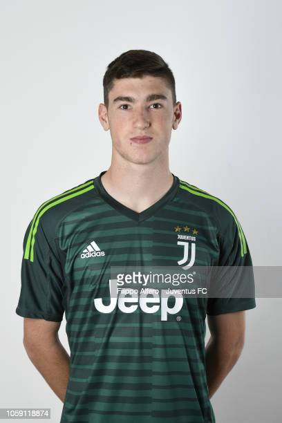 Franco Israel during Juventus U23 Headshots at Juventus Center Vinovo on August 31 2018 in Vinovo Italy