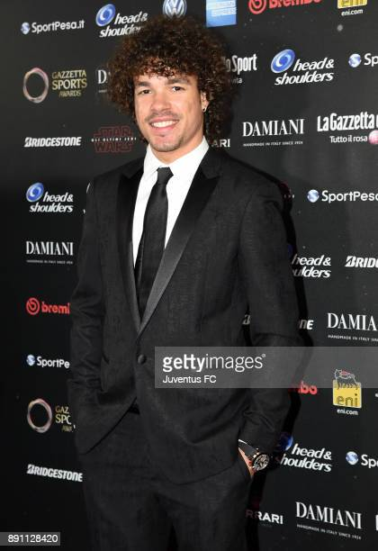 Franco Morbidelli attends the Gazzetta Sports Awards on December 12 2017 in Milan Italy