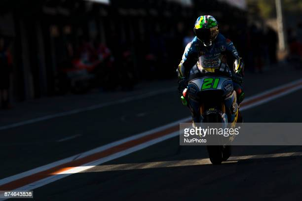 Franco Morbidelli Eg 00 Marc Vds Honda during the tests of the new season MotoGP 2018 Circuit of Ricardo TormoValencia Spain Wednesday 15th of...