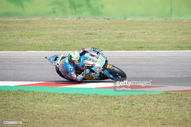 21 Franco MORBIDELLI ITA EG 00 Marc VDS Honda qualifications at the Misano World Circuit Marco Simoncelli Italy thirteenth round of MotoGP Word...
