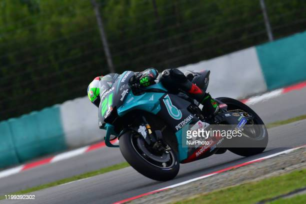 Franco Morbidelli of Italy And Petronas Yamaha SRT during day two MotoGP Official Test Sepang 2020 at Sepang International Circuit on February 7 2020...