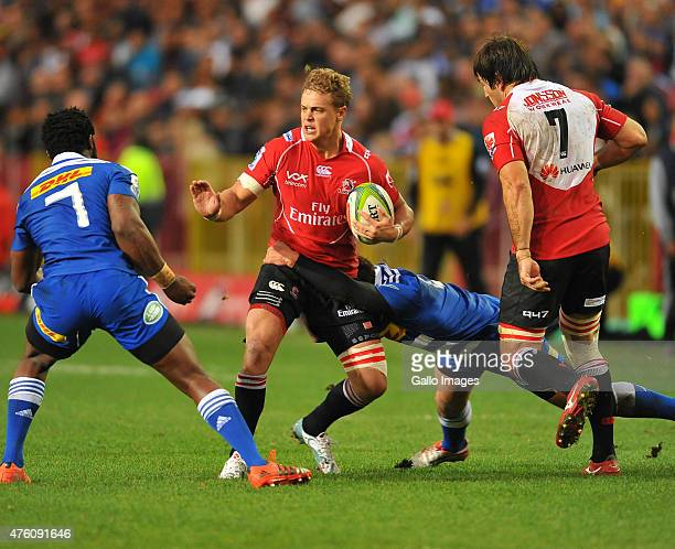 Franco Mostert of the Lions during the Super Rugby match between DHL Stormers and Emirates Lions at DHL Newlands Stadium on June 06 2015 in Cape Town...
