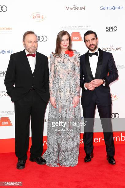 Franco Nero Alexandra Maria Lara and Elyas M'Barek during the 46th German Film Ball at Hotel Bayerischer Hof on January 26 2019 in Munich Germany