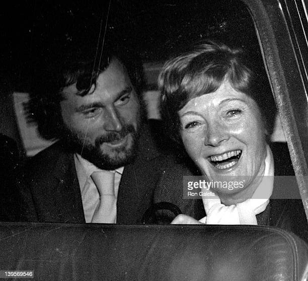 Franco Nero and actress Rachel Kempson sighted on October 22 1969 in London England