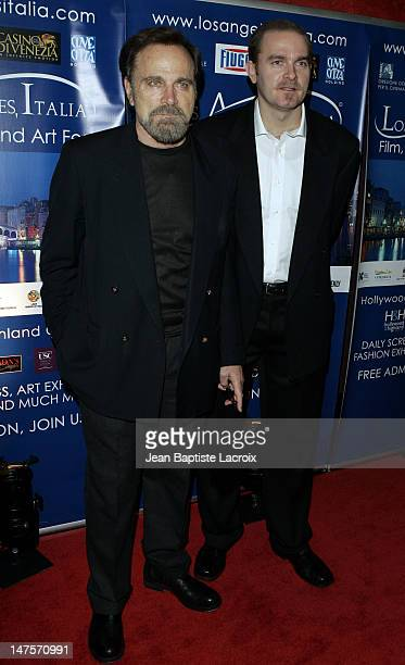 """Franco Nero and Carlo Gabriel Nero during """"All the Invisible Children"""" Italia Film Fest Opening Benefiting UNICEF at Mann Chinese 6 Theatres in..."""