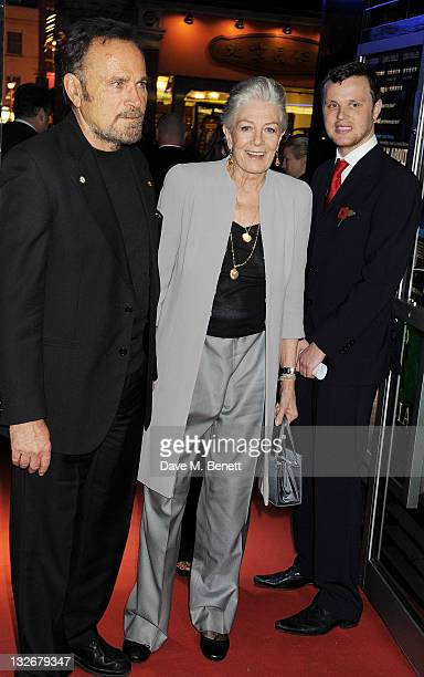 Franco Nero and Vanessa Redgrave attend the Academy of Motion Picture Arts and Sciences' first European salute to actress Vanessa Redgrave at The...