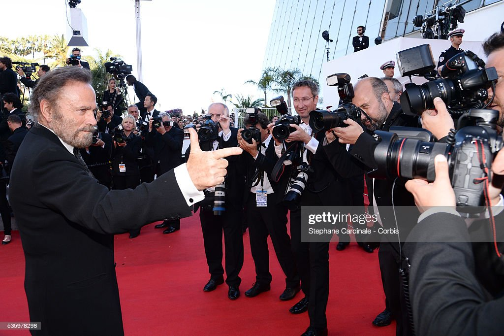 Franco Nero at the Closing ceremony and 'A Fistful of Dollars' screening during 67th Cannes Film Festival