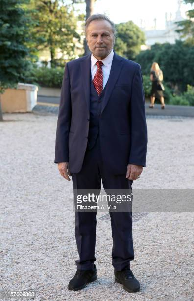 Franco Nero attends 59th edition of the Globi D'Oro 2019 awards ceremony on June 19 2019 in Rome Italy