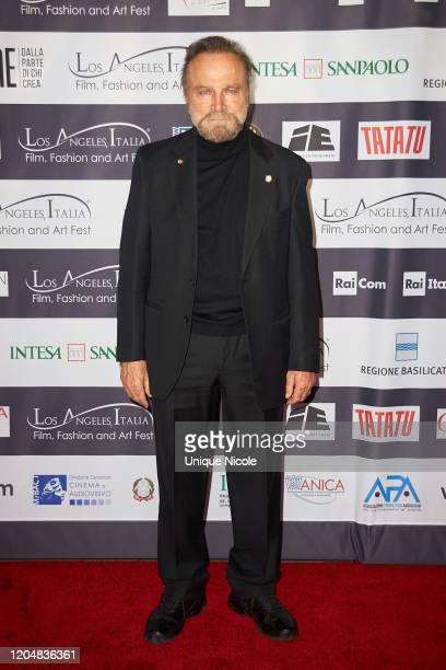 Franco Nero attends the 2020 Los Angeles Italia Film Fashion And Art Festival at TCL Chinese 6 Theatres on February 07 2020 in Hollywood California