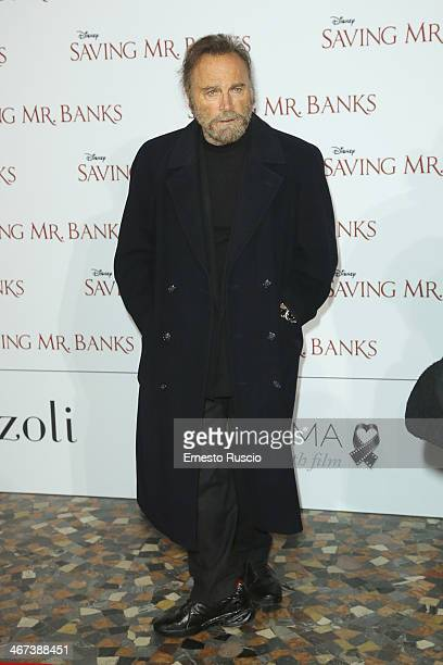 Franco Nero attends the 'Saving Mr Banks' premiere at The Space Moderno on February 6 2014 in Rome Italy