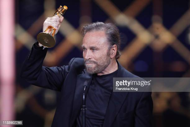 Franco Nero during the Goldene Kamera show at Tempelhof Airport on March 30 2019 in Berlin Germany