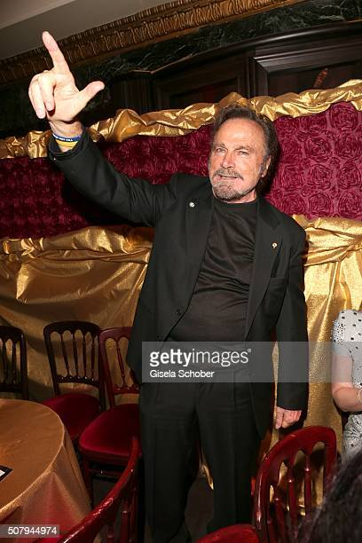 Franco Nero during the Lambertz Monday Night 2016 at Alter Wartesaal on February 1 2016 in Cologne Germany